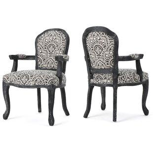 World Menagerie Gordon Fabric Armchair (Set of 2)
