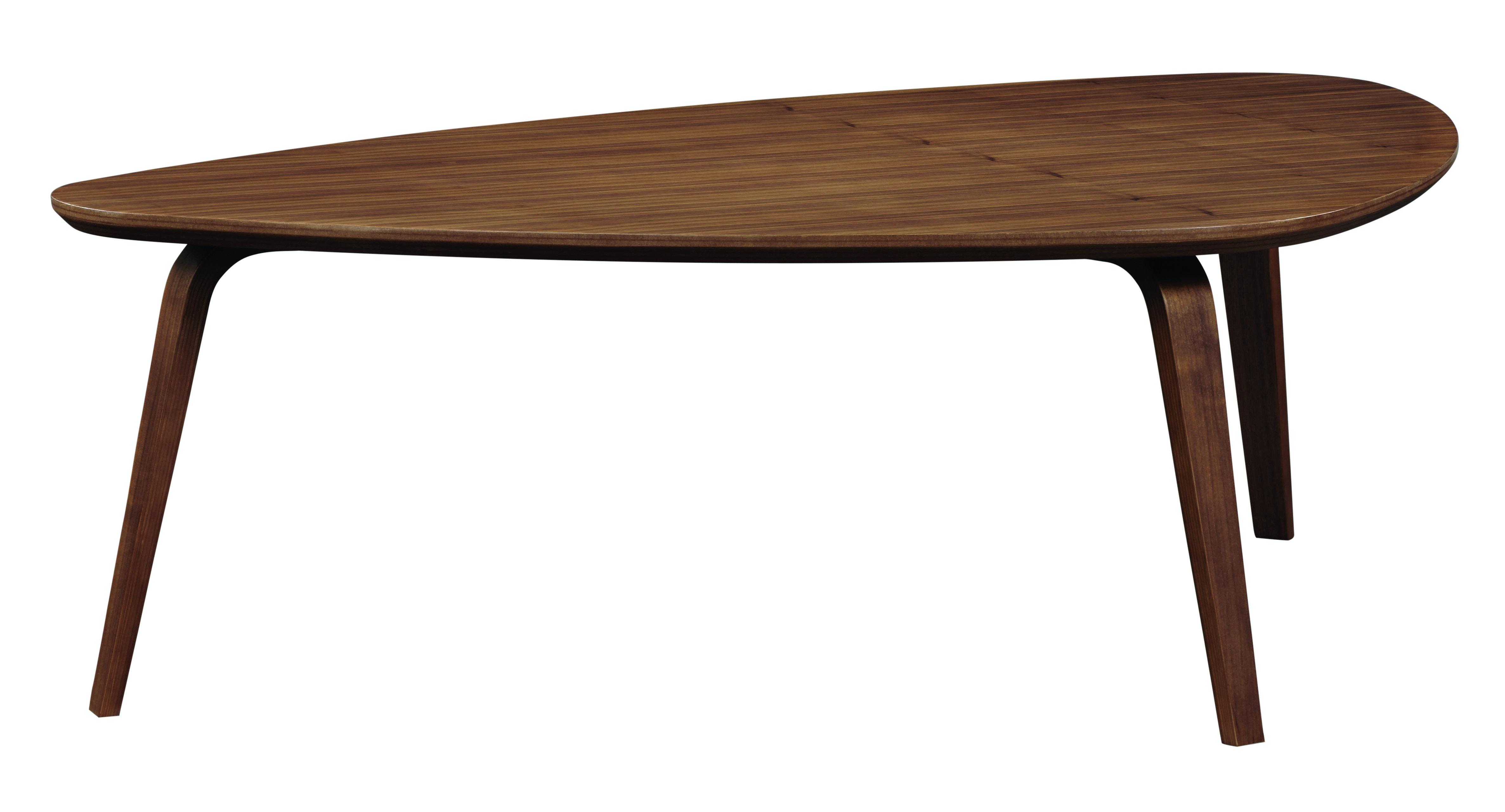 George Oliver Bradbury Triangular Coffee Table Wayfair