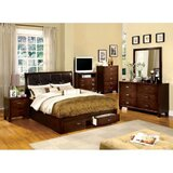 Claireborne Queen Platform Solid Wood 4 Piece Bedroom Set by Winston Porter