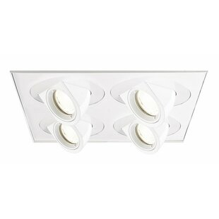 Tesla LED Multi-Spotlight Recessed Lighting Kit by WAC Lighting