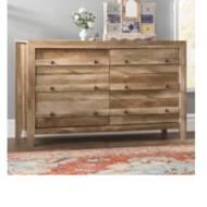 Greyleigh Riddleville 6 Drawer Double Dresser Reviews Wayfair