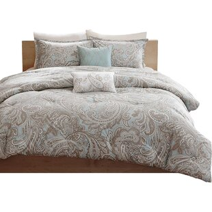 Three Posts Cedarvale 5 Piece Comforter Set