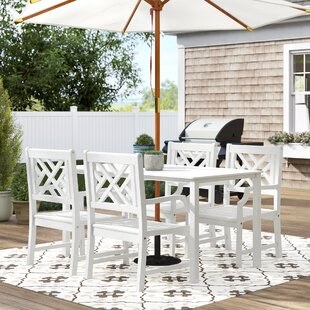Hatten 5 Piece Dining Set by Sol 72 Outdoor