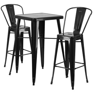3piece paulson pub table set