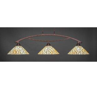 Astoria Grand Austinburg 3-Light Billiard Pendant