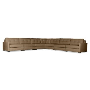 Brayden Studio Secrest Buttoned Right and Left Arms L-Shape Modular Sectional