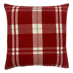 Check Plaid Down Feather Throw Pillows You Ll Love In 2021 Wayfair