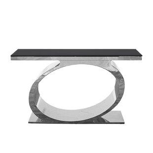 Linnea Console Table by Everly Quinn