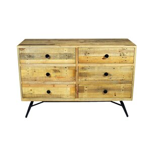 Union Rustic Ada 6 Drawer ..