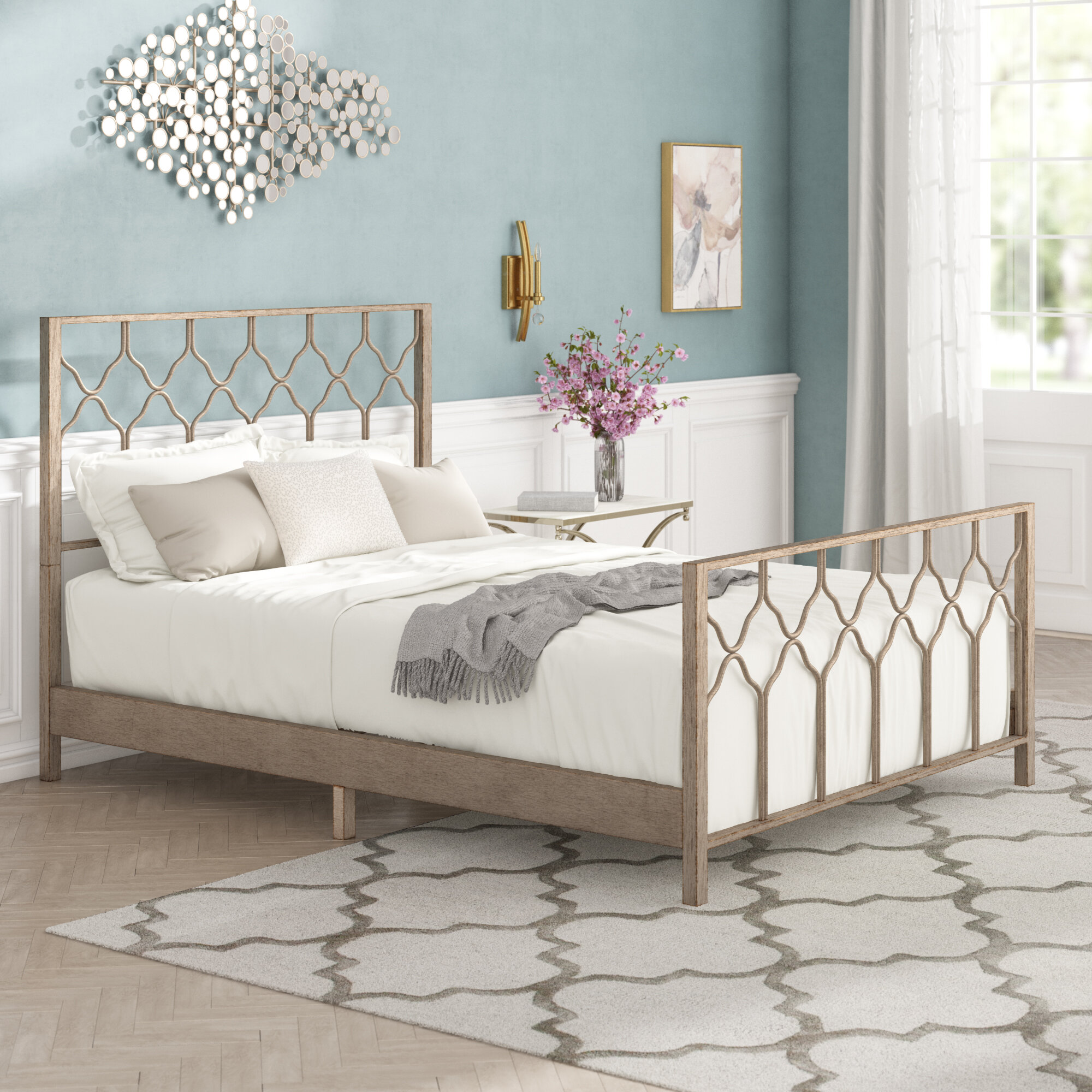 Willa Arlo Interiors Hasse Panel Bed