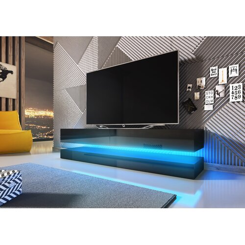 """Bassilly TV Stand for TVs up to 55"""" Metro Lane"""
