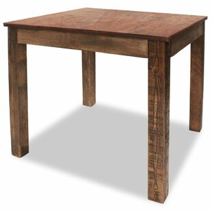 Bagneux Solid Wood Dining Table by Millwood Pines