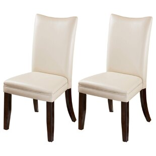 Silvestri Upholstered Dining Chair (Set of 2) Winston Porter