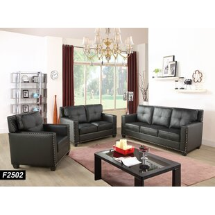 3 Piece Standard Living Room Set (Set Of 7) By Red Barrel Studio