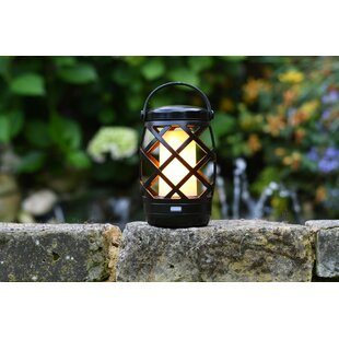 Auraglow Battery Powered LED Outdoor Lantern Image