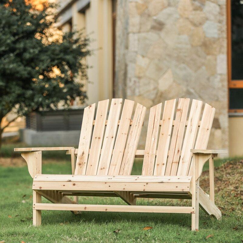 Melcher Solid Wood Adirondack Chair & Reviews   Joss & Main