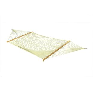 Longshore Tides Caulder Cotton Rope Hammock with Stand