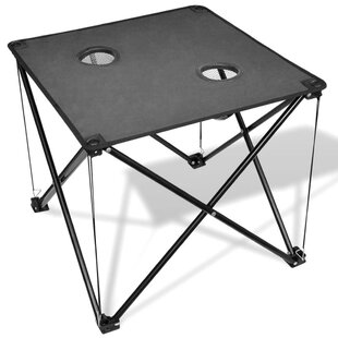 Review Conkle Folding Stainless Steel Camping Table