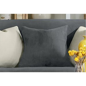 Stretch Suede Pillow Box Cushion Slipcover by Sure Fit