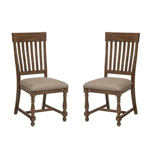 Howze Slat Back Side Chair (Set of 2) August Grove