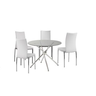 Figueroa 5 Piece Breakfast Nook Dining Se..