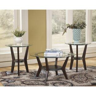 Latitude Run Butcombe 3 Piece Coffee Table Set