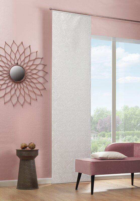 home wohnideen schiebegardine oliverio 1 st ck blickdicht bewertungen. Black Bedroom Furniture Sets. Home Design Ideas