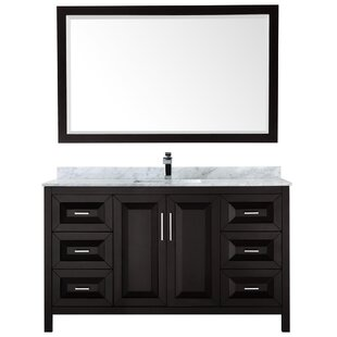 Reviews Daria 60 Single Bathroom Vanity Set with Mirror ByWyndham Collection