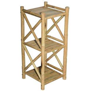 Bali Etagere Bookcase Bamboo54