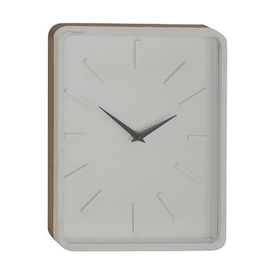 Turn on the Brights Fairview Vintage Rectangular Wall Clock