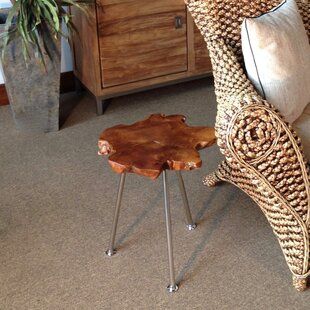 Best Reviews Ampyang End Table by Chic Teak