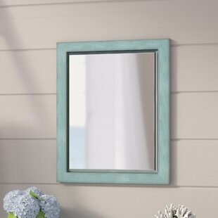2c83f406e Navy Blue Wall Mirror | Wayfair