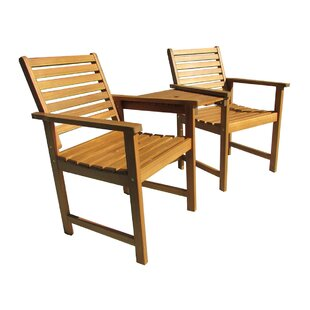 East Wilton Wooden Love Seat By Sol 72 Outdoor