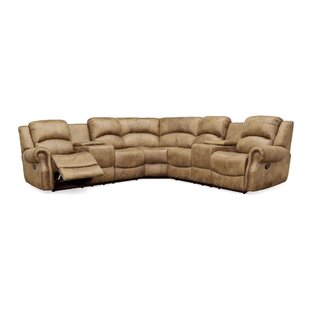 Shop Roudebush Reclining Sectional by Red Barrel Studio