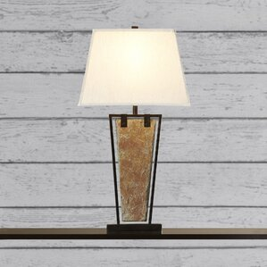 Cabin lodge table lamps youll love wayfair yosemite 30 table lamp mozeypictures Images