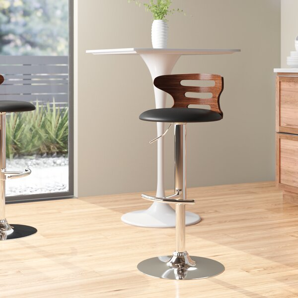 Excellent Modern Contemporary Black Metal Base Bar Stool Allmodern Uwap Interior Chair Design Uwaporg