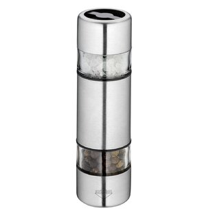 Sydney Stainless Steel/Acrylic Salt And Pepper Combination