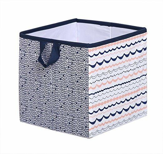 Olivia Tribal Fabric Storage Cube And Bin