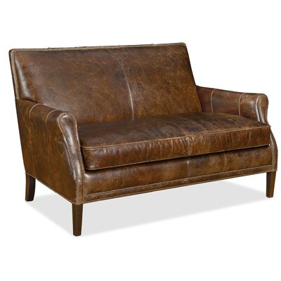 Hooker Furniture Leith Leather Settee