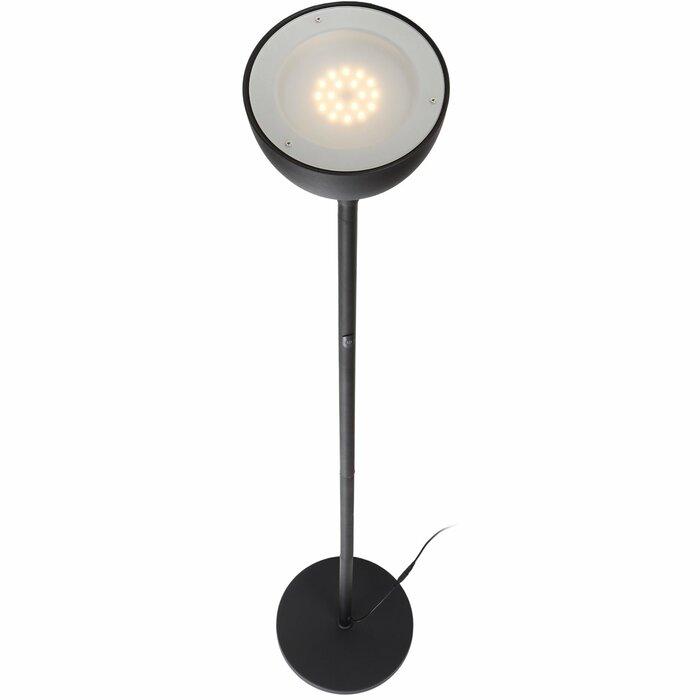 wayfair led lighting lamp torchiere floor ca sky pdp reviews floors elite brightech