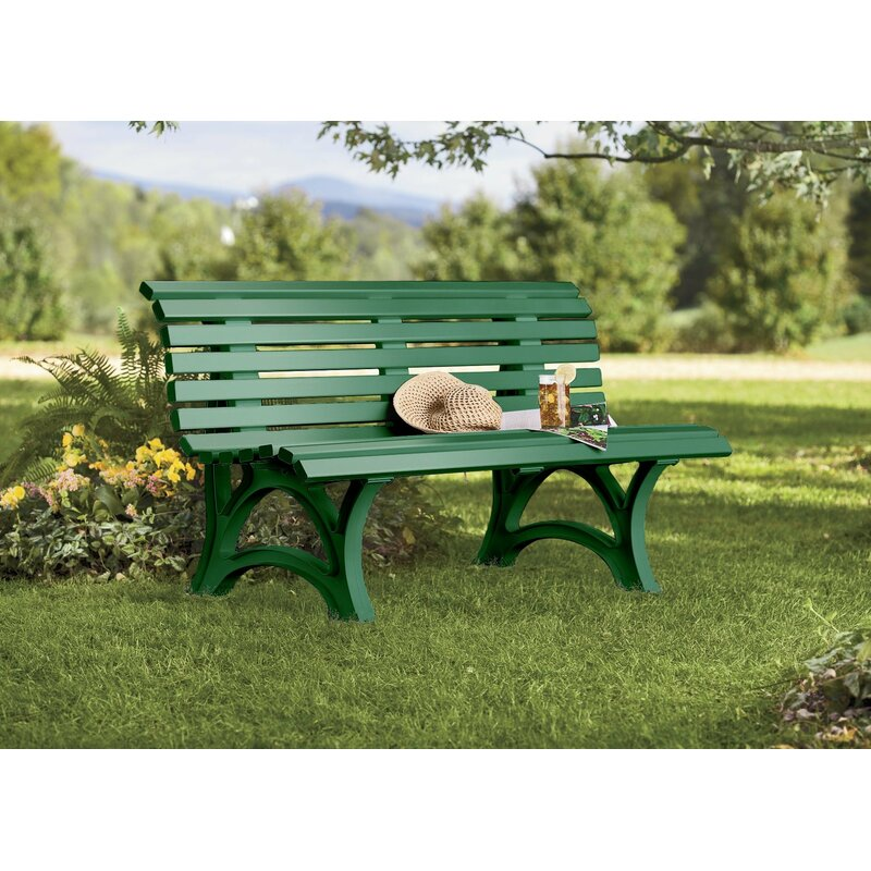 Resin Garden Furniture Weatherproof Resin Garden Bench