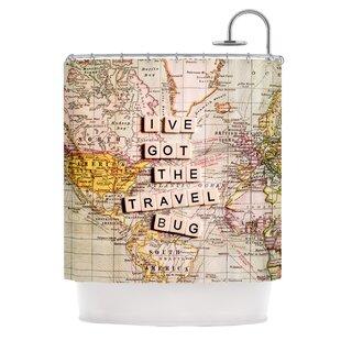 Travel Bug Shower Curtain