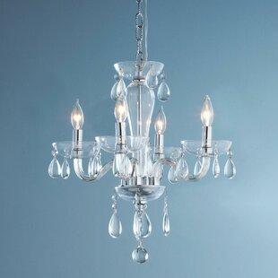 Rosdorf Park Roni 5-Light Candle Style Ch..