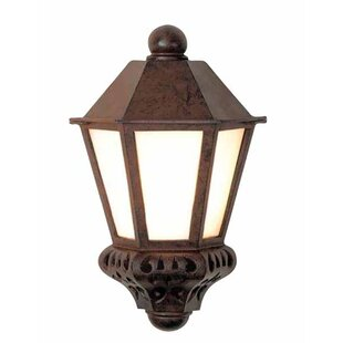 Affordable Tuscany 1-Light Outdoor Flush Mount By Melissa Lighting
