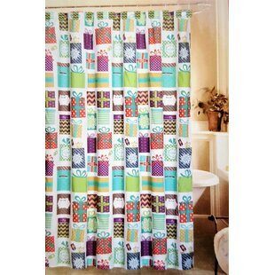 Purchase Jolly Holidays 13 Piece Under The Tree Fabric Shower Curtain Set ByThe Holiday Aisle