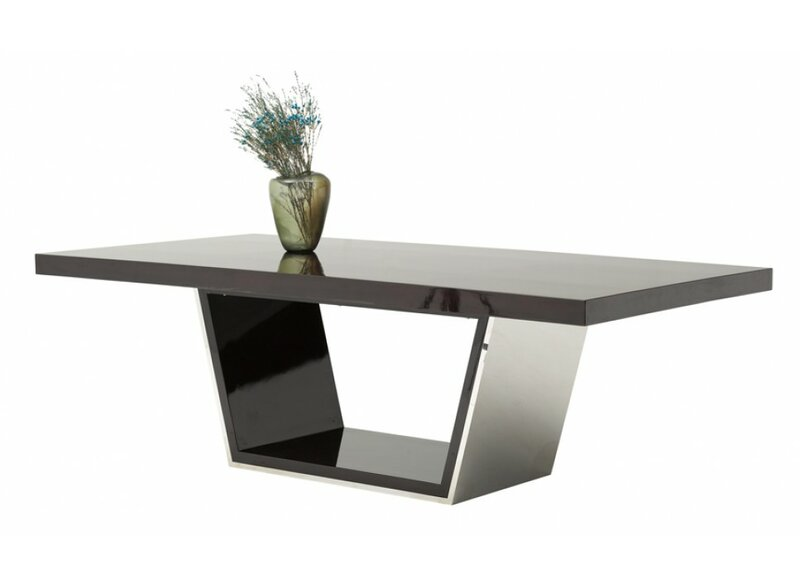 Clower Metal Top Dining Table