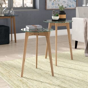 Ebern Designs Courtlyn 2 Piece Nesting Tables