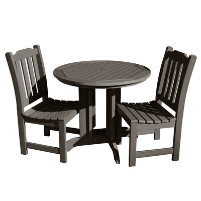 Amelia 3 Piece Bistro Set by Three Posts Modern