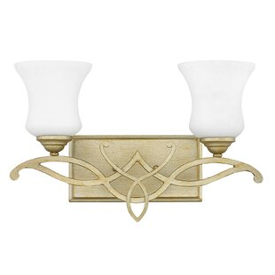 Online Reviews Brooke 2-Light Vanity Light By Hinkley Lighting