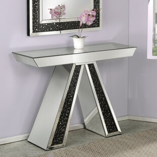 Rosdorf Park Blakes Mirrored Console Table